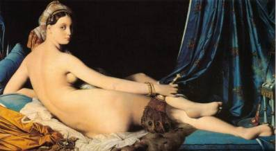 ingres-odalisque-louvre_oakland_edu