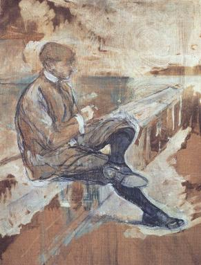 Toulouse-Lautrec_Henri_de-Picture_of_Louis_Bougle