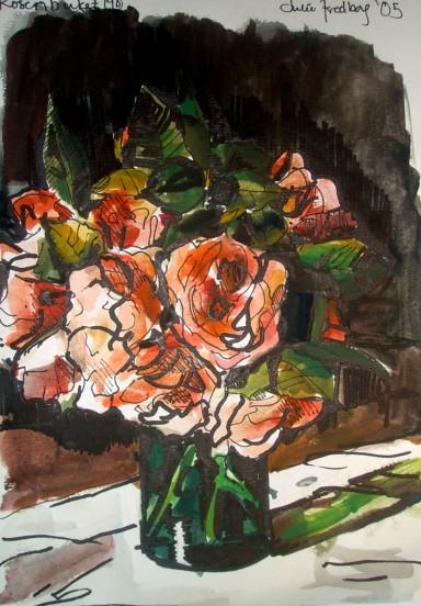Roser i sol