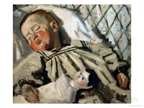 claude-monet-jean-monet-sleeping-1868