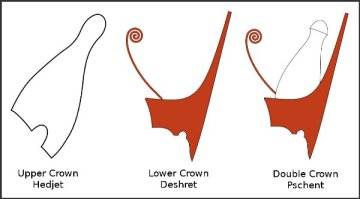 egyptian-upper-lower-double-crowns-symbols