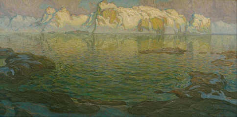 Anna_Boberg_-_Silent_evening_-_Scene_from_Lofoten_-_Google_Art_Project