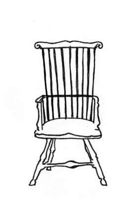 windsor chair 1750